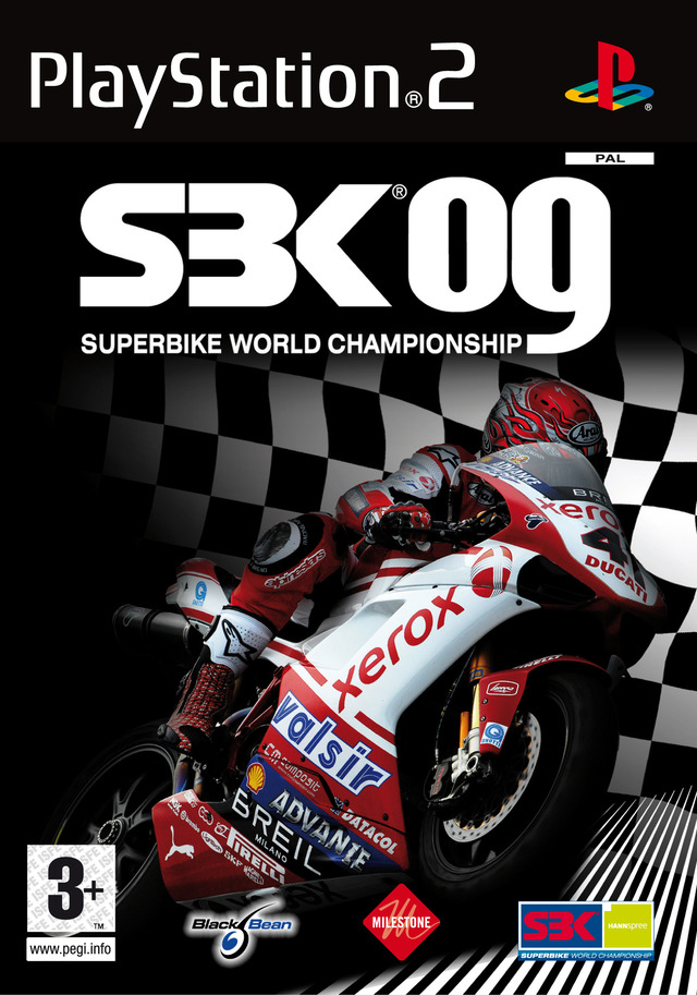 Caratula de SBK 09: Superbike World Championship para PlayStation 2