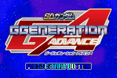 Pantallazo de SD Gundam G Generation Advance (Japonés) para Game Boy Advance