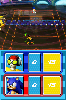 Pantallazo de SEGA Superstars Tennis para Nintendo DS