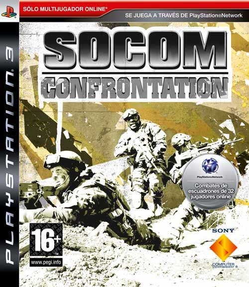 Caratula de SOCOM Confrontation para PlayStation 3