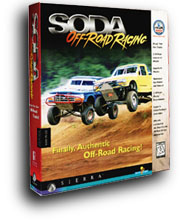 Caratula de SODA Off-Road Racing para PC
