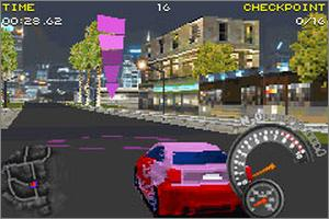 Pantallazo de SRS: Street Racing Syndicate para Game Boy Advance