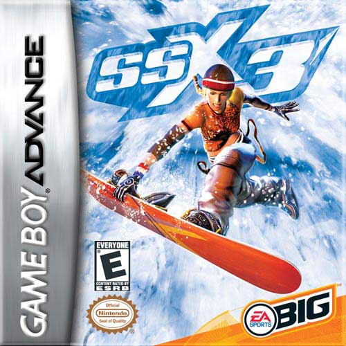 Caratula de SSX 3 para Game Boy Advance