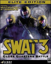 Caratula de SWAT 3: Close Quarters Battle -- Elite Edition para PC