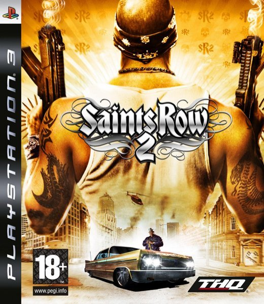 Caratula de Saints Row 2 para PlayStation 3