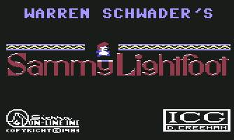Pantallazo de Sammy Lightfoot para Commodore 64
