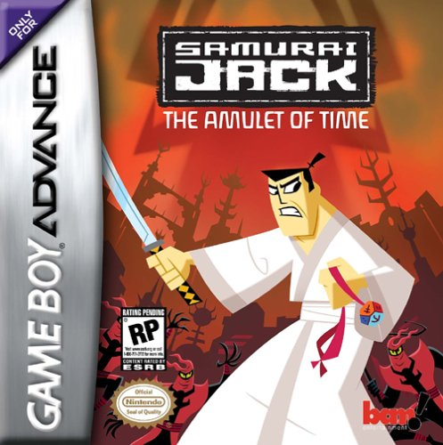 Caratula de Samurai Jack: The Amulet of Time para Game Boy Advance