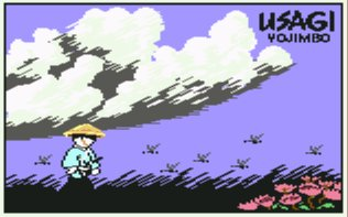 Pantallazo de Samurai Warrior: The Battles of Usagi Yojimbo para Commodore 64