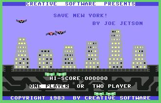 Pantallazo de Save New York para Commodore 64