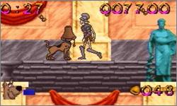Pantallazo de Scooby-Doo and the Cyber Chase para Game Boy Advance