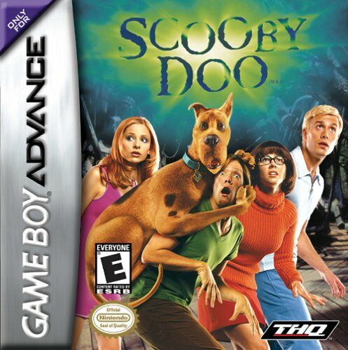Caratula de Scooby-Doo para Game Boy Advance
