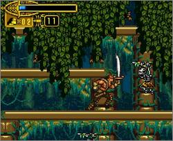 Pantallazo de Scorpion King: Sword of Osiris, The para Game Boy Advance