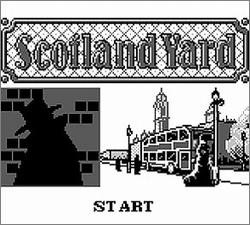 Pantallazo de Scotland Yard para Game Boy