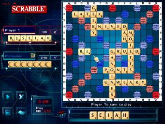 Pantallazo de Scrabble CD-ROM Crossword Game para PC