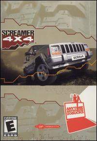 Caratula de Screamer 4X4 para PC