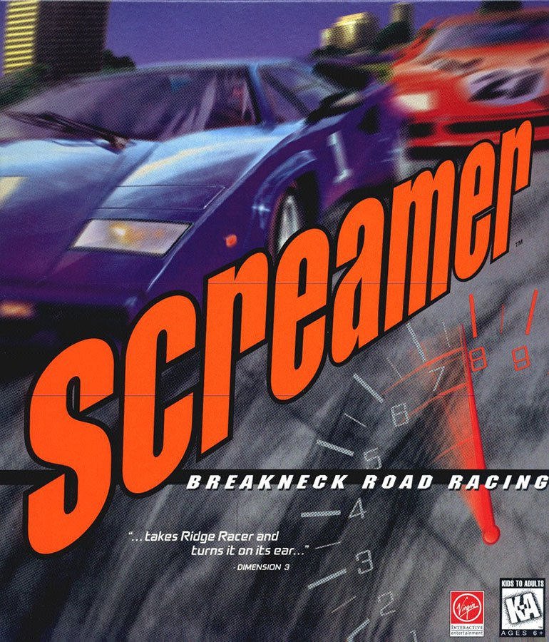 Caratula de Screamer para PC