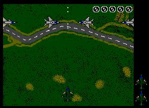 Pantallazo de Screaming Wings para Atari ST