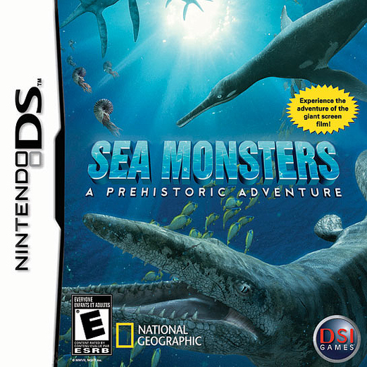 Caratula de Sea Monsters: A Prehistoric Adventure para Nintendo DS
