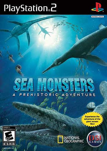 Caratula de Sea Monsters: A Prehistoric Adventure para PlayStation 2