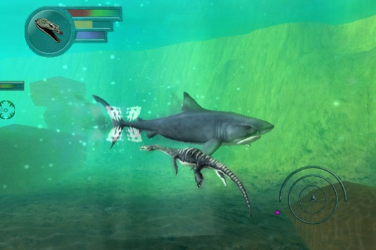 Pantallazo de Sea Monsters: A Prehistoric Adventure para Wii