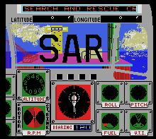 Pantallazo de Search and Rescue para MSX