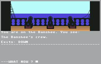 Pantallazo de Seas of Blood para Commodore 64