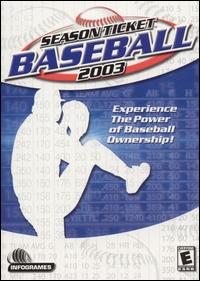 Caratula de Season Ticket Baseball 2003 para PC