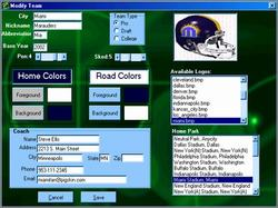 Pantallazo de Season Ticket Football 2003 para PC