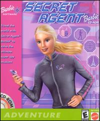 Caratula de Secret Agent Barbie CD-ROM para PC