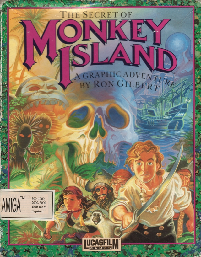 Caratula de Secret Of Monkey Island, The para Amiga