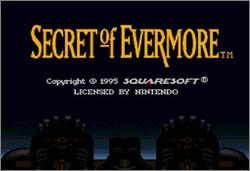 Pantallazo de Secret of Evermore para Super Nintendo