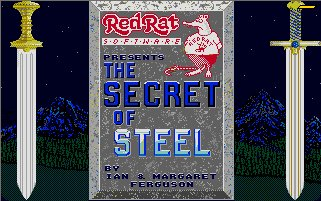 Pantallazo de Secret of Steel, The para Atari ST