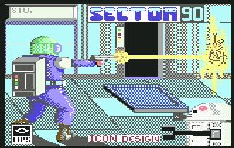 Pantallazo de Sector 90 para Commodore 64