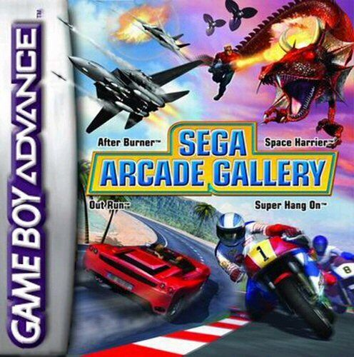 Caratula de Sega Arcade Gallery para Game Boy Advance