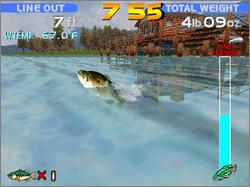 Pantallazo de Sega Bass Fishing para PC