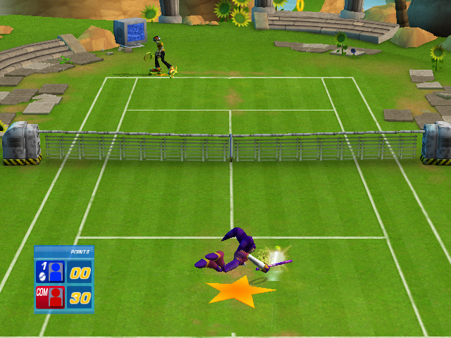 Pantallazo de Sega Superstars Tennis para PlayStation 2