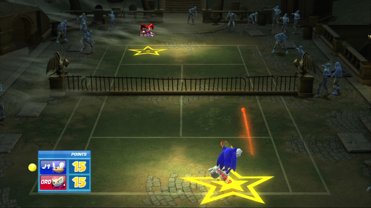 Pantallazo de Sega Superstars Tennis para PlayStation 3