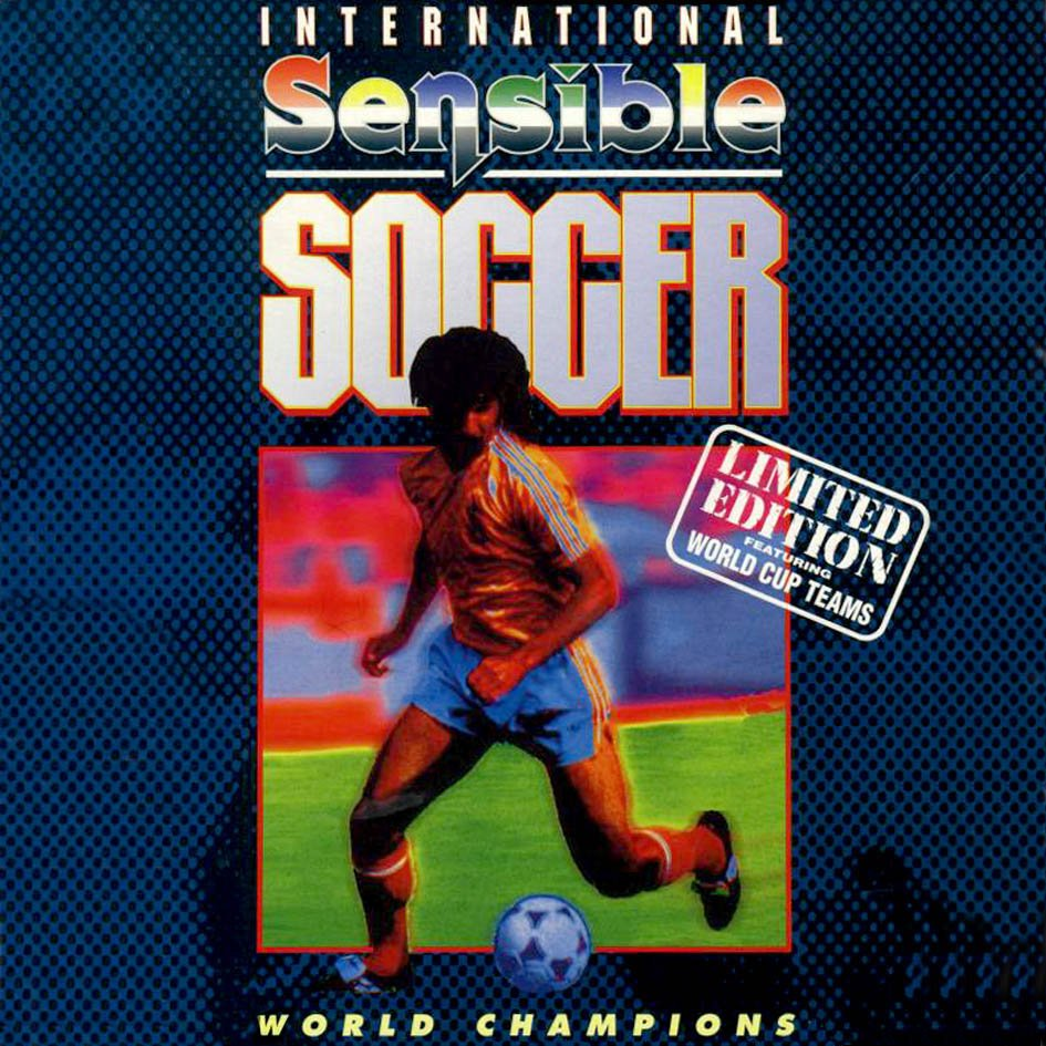 Caratula de Sensible Soccer International Edition v1.2 - International Edition para Atari ST