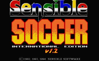 Pantallazo de Sensible Soccer International Edition v1.2 - International Edition para Atari ST