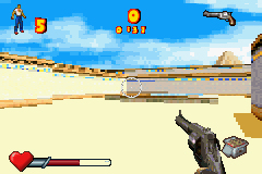 Pantallazo de Serious Sam Advance para Game Boy Advance