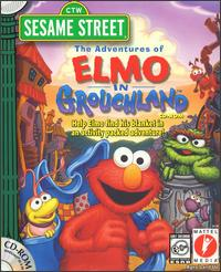 Caratula de Sesame Street: The Adventures of Elmo in Grouchland para PC