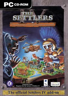 Caratula de Settlers 4: The Trojans and the Elixir of Power para PC
