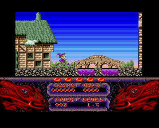 Pantallazo de Seven Gates Of Jambala, The para Amiga