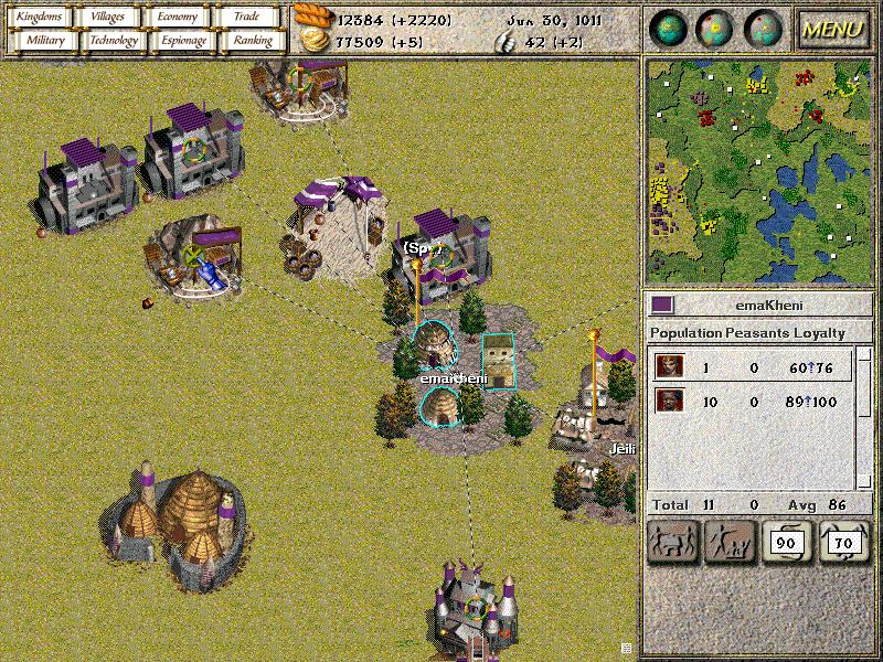 Pantallazo de Seven Kingdoms Ancient Adversaries para PC