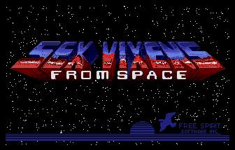 Pantallazo de Sex Vixens from Space para Atari ST