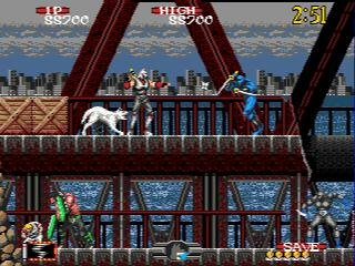 Pantallazo de Shadow Dancer: The Secret of Shinobi para Sega Megadrive