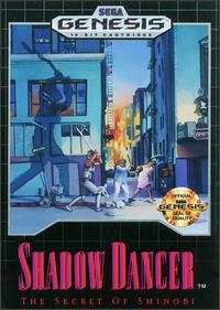 Caratula de Shadow Dancer: The Secret of Shinobi para Sega Megadrive