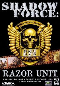 Caratula de Shadow Force: Razor Unit para PC