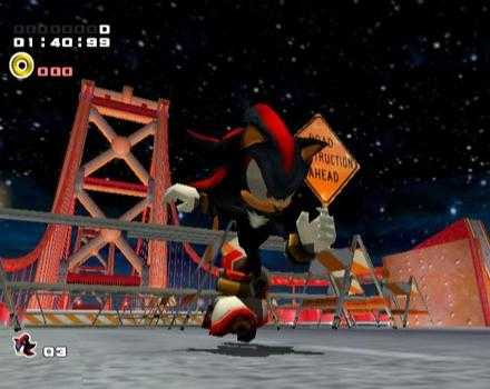 Pantallazo de Shadow The Hedgehog para GameCube