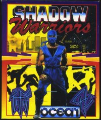 Caratula de Shadow Warriors para Atari ST